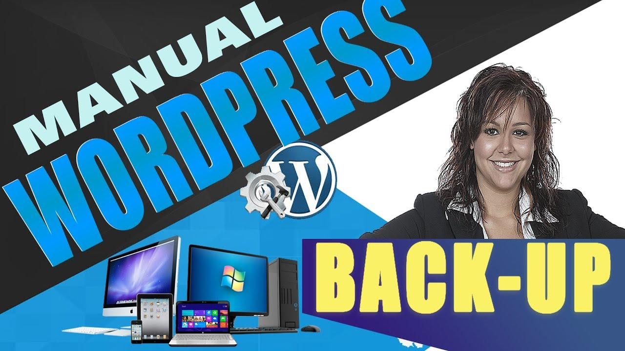 Manually Backup & Restore WordPress