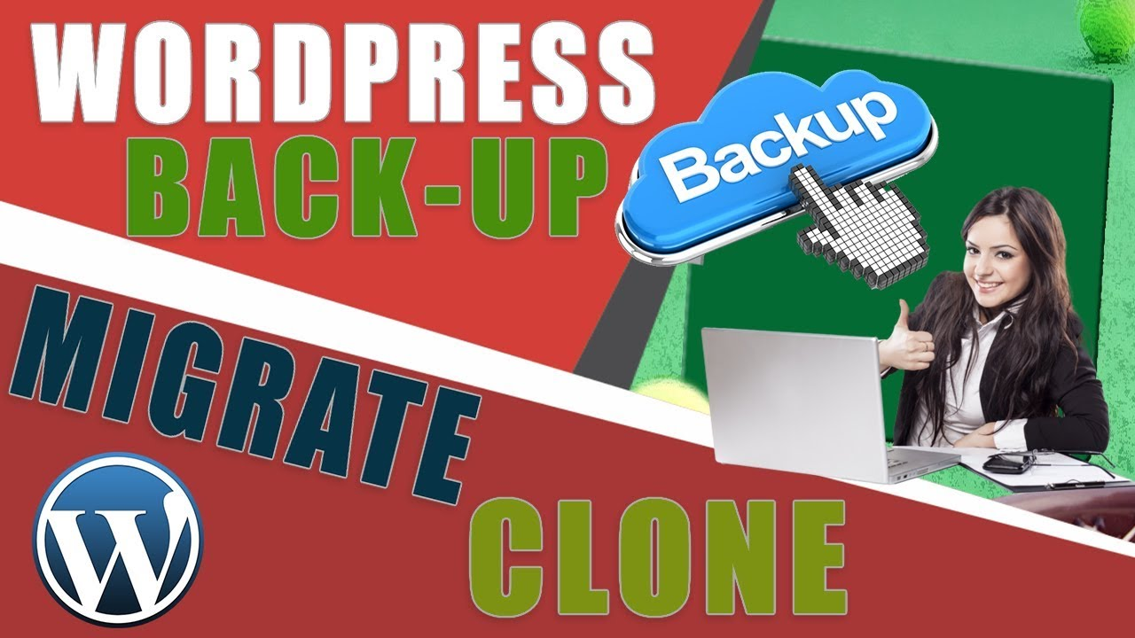 migrate a website with All-in-one WP Migration plugin / Website Backup plugin