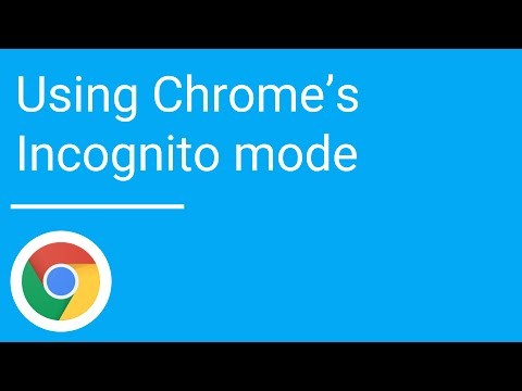 why do you need to use incognito mode on google chrome?