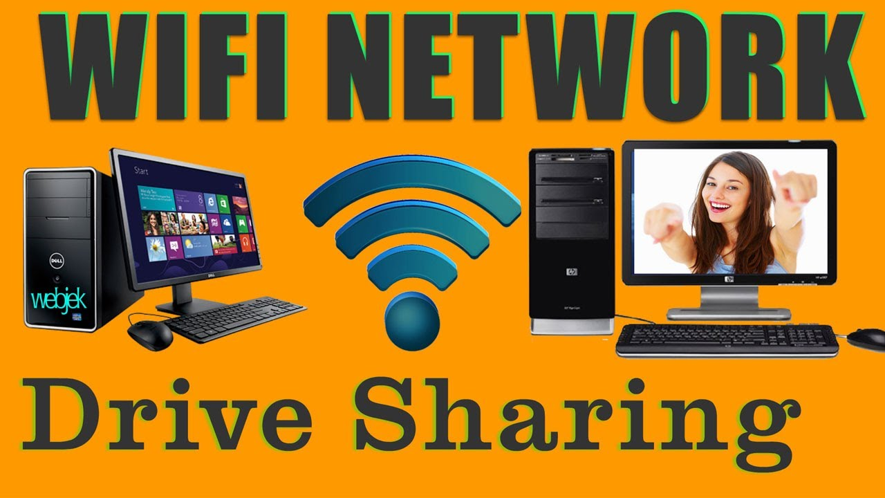 How to connect two Computer-laptop via on Network to share Data, files, drive Sharing